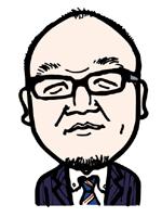 片山 礼二郎の似顔絵